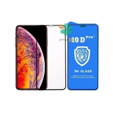 قیمت گلس تمام صفحه گوشی ایفون Apple iPhone XS Max مدل 10D Proخرید گلس تمام صفحه گوشی ایفون Apple iPhone XS Max مدل 10D Pro