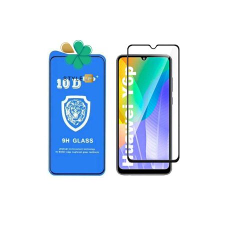 خرید گلس تمام صفحه گوشی هواوی Huawei Y6p مدل 10D Pro