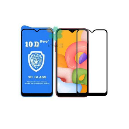 خرید گلس تمام صفحه گوشی سامسونگ Samsung Galaxy A01 مدل 10D Pro