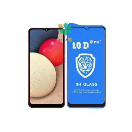 خرید گلس تمام صفحه گوشی سامسونگ Galaxy A02s مدل 10D Pro