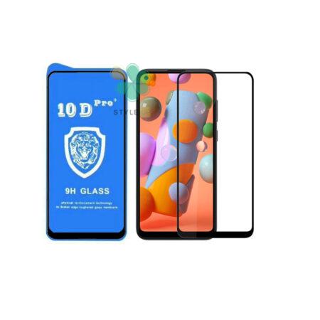 خرید گلس تمام صفحه گوشی سامسونگ Samsung Galaxy A11 مدل 10D Pro