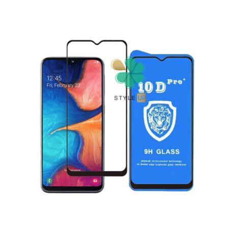 خرید گلس تمام صفحه گوشی سامسونگ Galaxy A20e مدل 10D Pro
