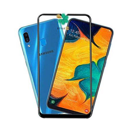 خرید گلس تمام صفحه گوشی سامسونگ Galaxy A30 مدل 10D Pro