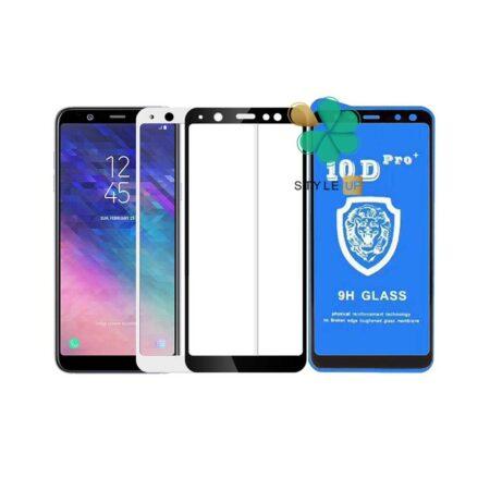 خرید گلس تمام صفحه گوشی سامسونگ Galaxy A6 2018 مدل 10D Pro