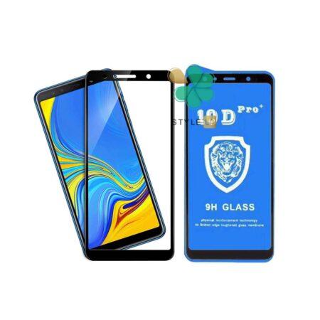 خرید گلس تمام صفحه گوشی سامسونگ Galaxy A7 2018 مدل 10D Pro