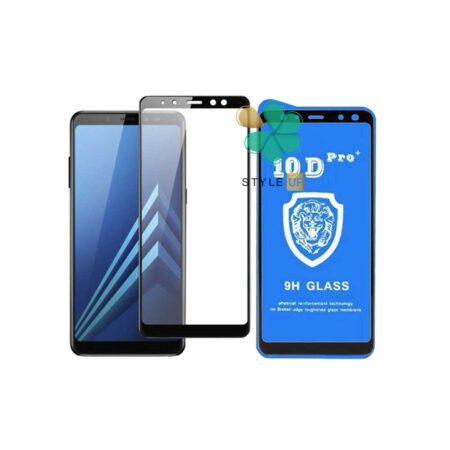 خرید گلس تمام صفحه گوشی سامسونگ Galaxy A8 2018 مدل 10D Pro