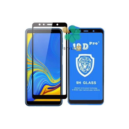 قیمت گلس تمام صفحه گوشی سامسونگ Galaxy A9 2018 مدل 10D Pro