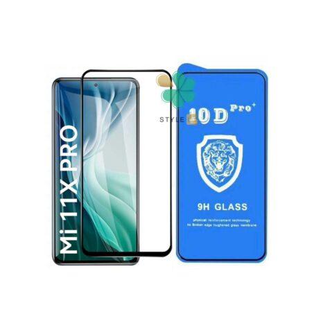 خرید گلس تمام صفحه گوشی شیائومی Xiaomi Mi 11X Pro مدل 10D Pro