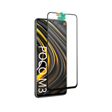 خرید گلس تمام صفحه گوشی شیائومی Poco M3 مدل 10D Pro