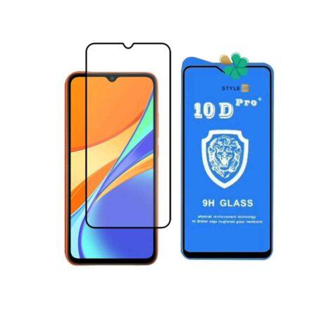 خرید گلس تمام صفحه گوشی شیائومی Xiaomi Redmi 9C مدل 10D Pro