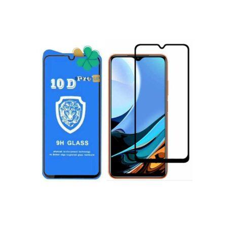 خرید گلس تمام صفحه گوشی شیائومی Xiaomi Redmi 9T مدل 10D Pro