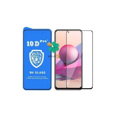 خرید گلس تمام صفحه گوشی شیائومی Xiaomi Redmi Note 10S مدل 10D Pro