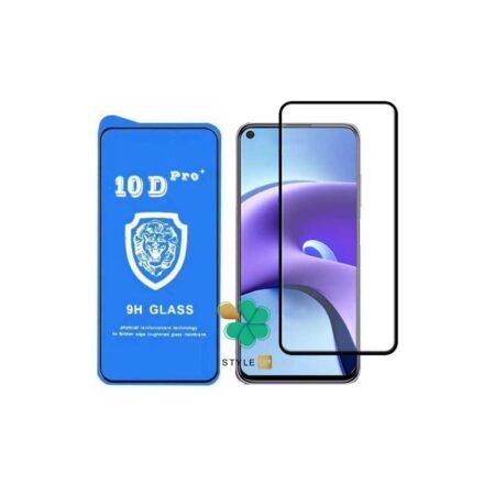 خرید گلس تمام صفحه گوشی شیائومی Xiaomi Redmi Note 9T 5G مدل 10D Pro