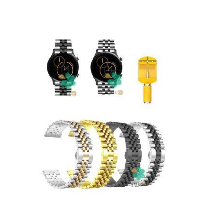قیمت بند فلزی ساعت شیائومی Haylou RS3 LS04 مدل 5Rows