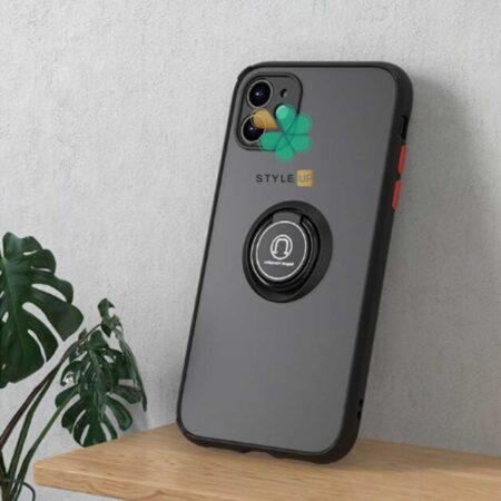 خرید قاب گوشی اپل ایفون Apple iPhone 12 مدل پشت مات رینگ دار