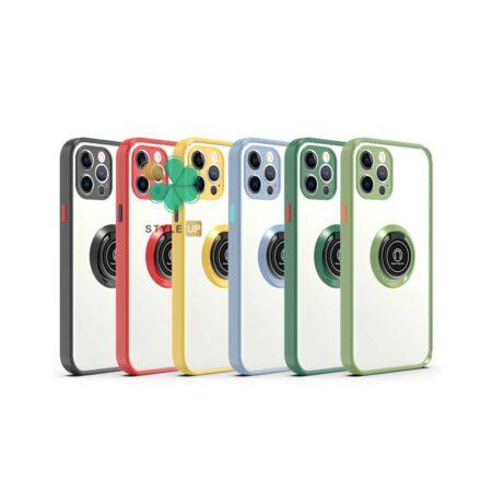 قیمت قاب گوشی اپل ایفون Apple iPhone 12 Pro مدل پشت مات رینگ دار