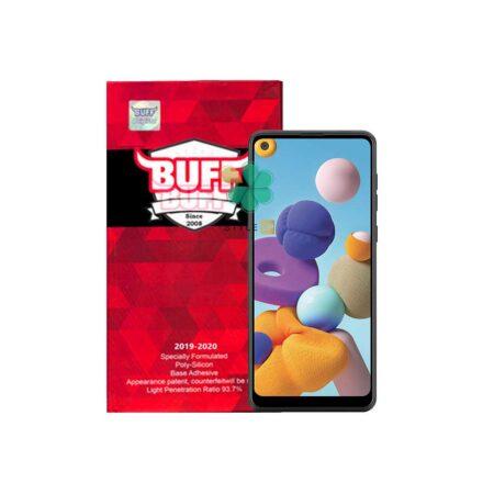 خرید گلس محافظ صفحه گوشی سامسونگ Galaxy A21 مدل Buff 5D