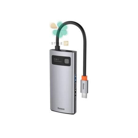 خرید هاب 4 پورت Type C بیسوس مدل Baseus Metal Gleam CAHUB-CY0G