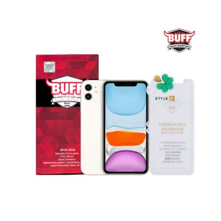 خرید محافظ صفحه Hydrogel گوشی اپل Apple iPhone 11 برند Buff