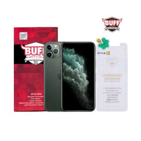 خرید محافظ صفحه Hydrogel گوشی اپل iPhone 11 Pro Max برند Buff