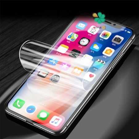 عکس محافظ صفحه Hydrogel گوشی اپل iPhone 12 Pro Max برند Buff