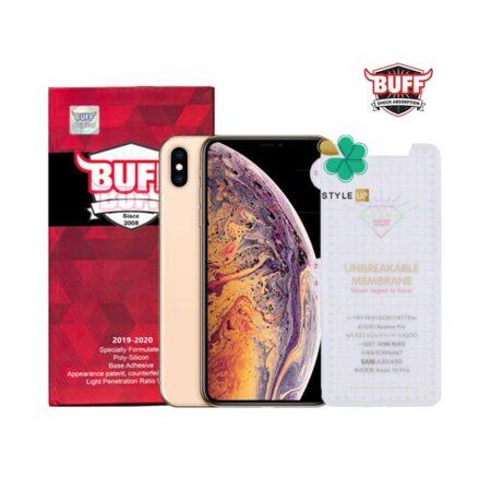 خرید محافظ صفحه Hydrogel گوشی اپل iPhone XS Max برند Buff