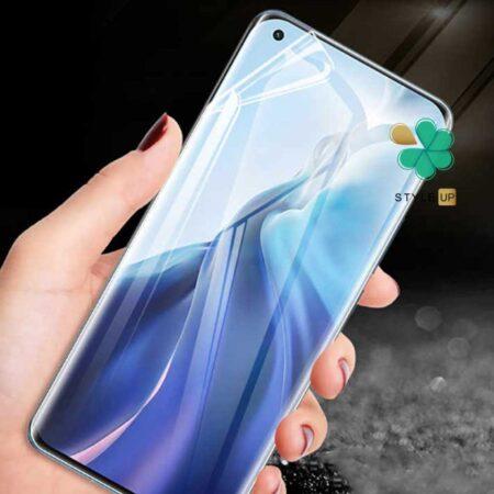 خرید محافظ صفحه Hydrogel گوشی شیائومی Xiaomi Mi 11 برند Buff