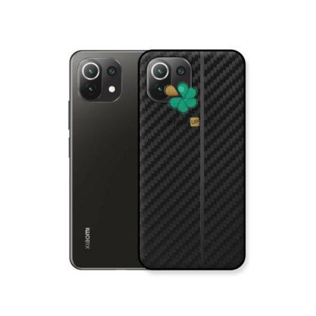 خرید کاور کربنی گوشی شیائومی Xiaomi Mi 11 Lite / 5G مدل Carbon Steps