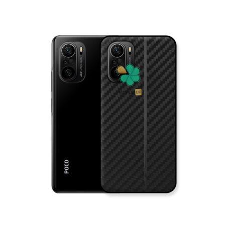 خرید کاور کربنی گوشی شیائومی Xiaomi Poco F3 مدل Carbon Steps