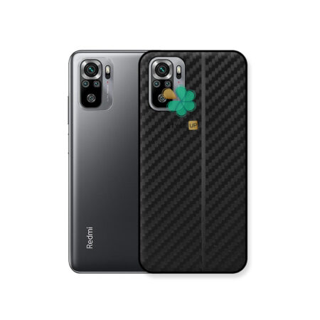خرید کاور کربنی گوشی شیائومی Redmi Note 10 مدل Carbon Steps