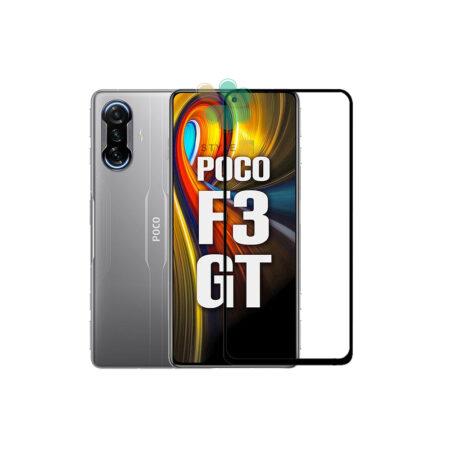 خرید گلس سرامیکی گوشی شیائومی Xiaomi Poco F3 GT مدل تمام صفحه