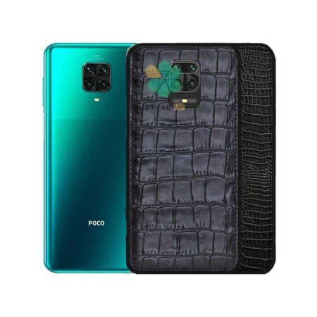 خرید قاب چرمی گوشی شیائومی Xiaomi Poco M2 Pro طرح Crocodile Skin