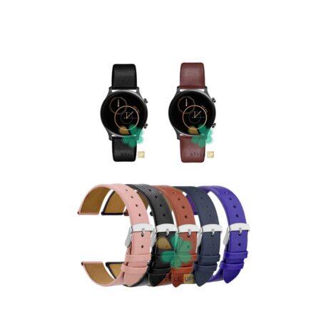 قیمت بند ساعت شیائومی Haylou RS3 LS04 مدل Fancy Leather