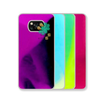 خرید قاب آکواریومی گوشی شیائومی Xiaomi Poco X3 مدل شب رنگ