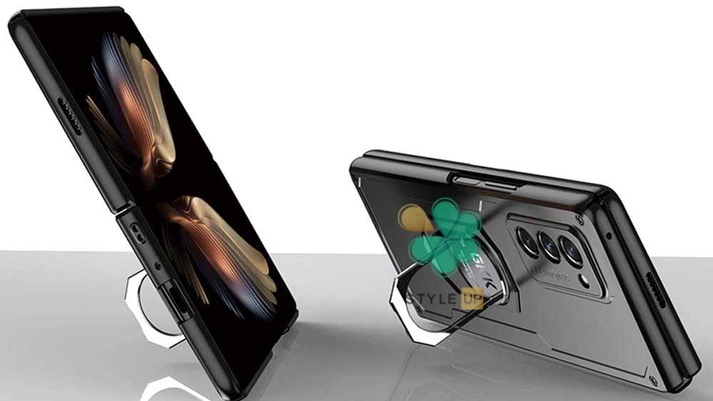 خرید قاب ضد ضربه هولدر دار گوشی سامسونگ Samsung Z fold 2 5G برند GKK
