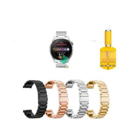 قیمت بند ساعت هواوی واچ Huawei Watch 3 Pro استیل 3Pointers