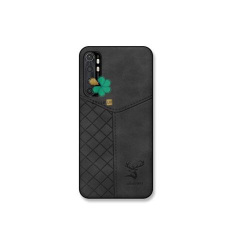 عکس قاب چرمی گوشی شیائومی Xiaomi Mi Note 10 Lite مدل Hunter