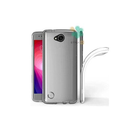 خرید قاب گوشی ال جی LG X Power2 مدل ژله ای شفاف