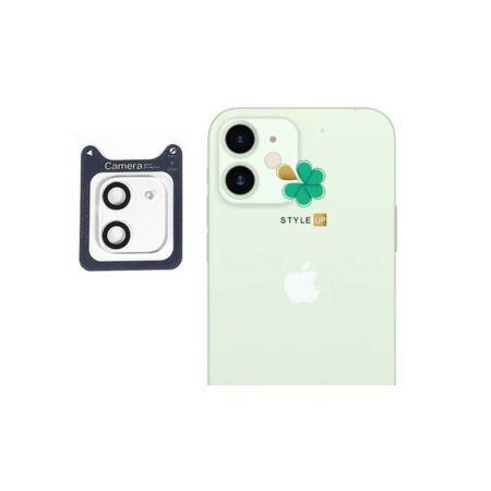 خرید گلس محافظ لنز دوربین گوشی اپل آیفون Apple iPhone 12 Mini برند Lanbi
