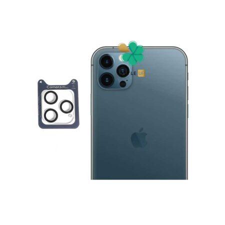 خرید گلس محافظ لنز دوربین گوشی اپل آیفون iPhone 12 Pro برند Lanbi