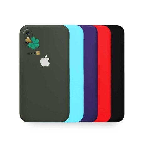 قیمت قاب گوشی آیفون Apple iPhone X / XS مدل سیلیکونی محافظ لنز دار