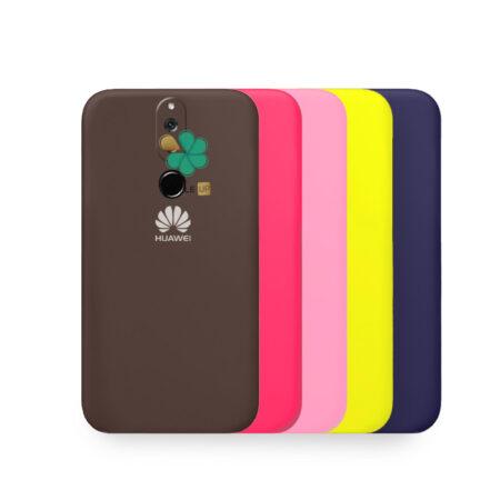 خرید قاب گوشی هواوی Mate 10 Lite / Nova 2i مدل سیلیکونی محافظ لنز دار