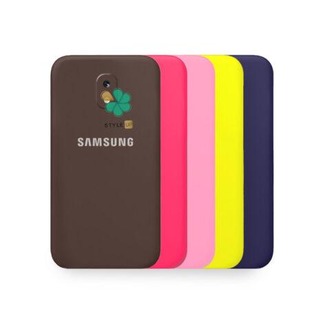 خرید قاب گوشی سامسونگ Galaxy J5 Pro مدل سیلیکونی محافظ لنز دار