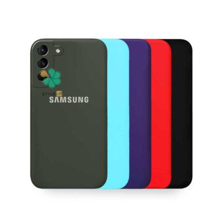 قیمت قاب گوشی سامسونگ Samsung Galaxy S21 Plus مدل سیلیکونی محافظ لنز دار