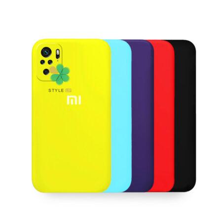خرید قاب گوشی شیائومی Redmi Note 10S مدل سیلیکونی محافظ لنز دار