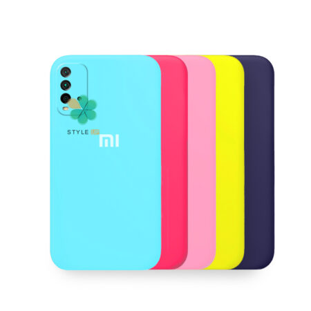 خرید قاب گوشی شیائومی Redmi Note 9 4G مدل سیلیکونی محافظ لنز دار