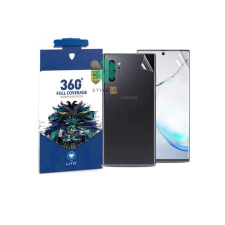 قیمت محافظ نانو پشت و رو گوشی سامسونگ Samsung Note 10 Plus برند Lito