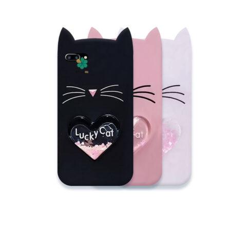 قیمت کاور آکواریومی گوشی ایفون iPhone 7 Plus / 8 Plus طرح Lucky Cat