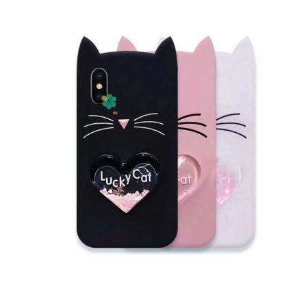 قیمت کاور آکواریومی گوشی ایفون Apple iPhone X / XS طرح Lucky Cat