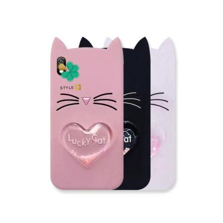 خرید کاور آکواریومی گوشی سامسونگ Galaxy A01 Core طرح Lucky Cat